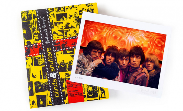 Blinds and Shutters Collector's Box Set of Prints The Rolling Stones