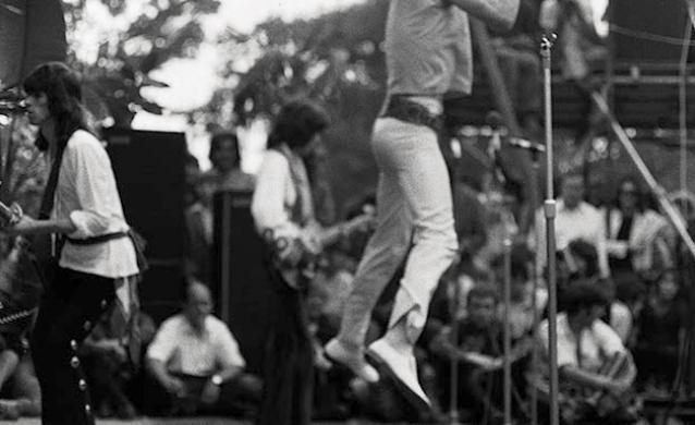 Mick Jagger Jumpin Jagger Print