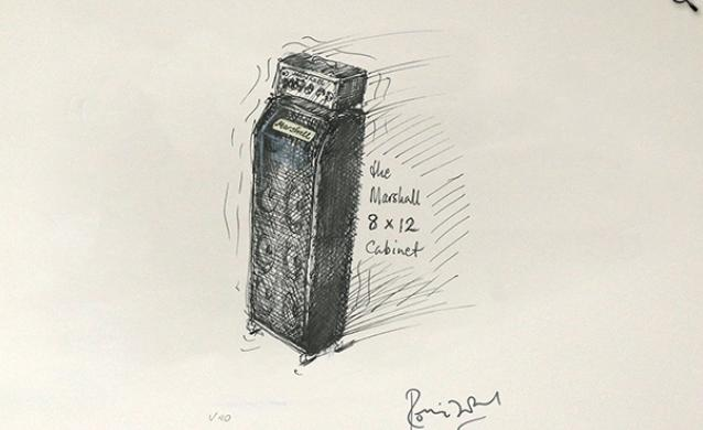 Marshall by Ronnie Wood